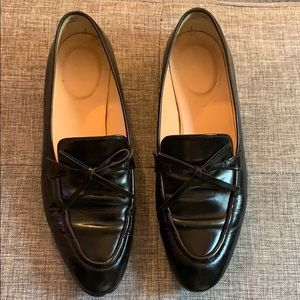 J. Crew Black Loafers